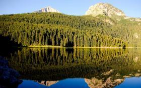 Горное озеро - Црно-Езеро (или Черное озеро)