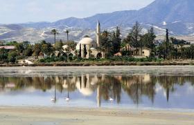 Мечеть Хала Султан Текке