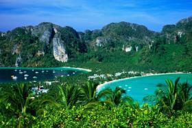 Ко Пхи Пхи - крошечный остров западного побережья
