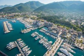 пристань Porto Montenegro