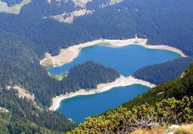 Самое большое озеро на Балканах - Скадарское озеро