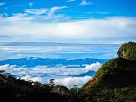 Вид с горы Пидуруталагала